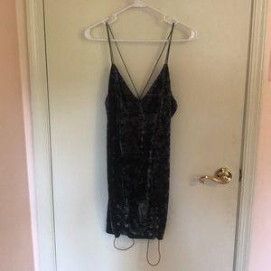 Velvet Dress from Tobi